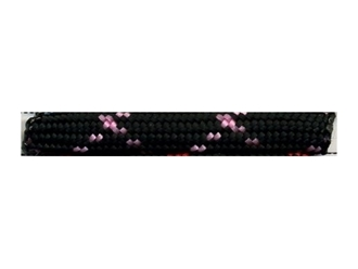 Picture of Black with Rose Pink X - 50 Ft - 550 LB Paracord
