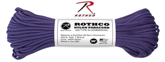 Picture of Purple - 100 Foot - 550 LB Type III Paracord