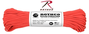 Picture of Red - 100 Foot - 550 LB Type III Paracord