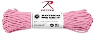 Picture of Rose Pink - 100 Foot - 550 LB Type III Paracord