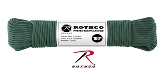 Picture of Hunter Green - 100 Foot - 5/32 Inch - Polyester Paracord
