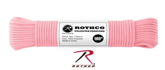 Picture of Rose Pink - 100 Foot - 5/32 Inch - Polyester Paracord