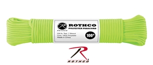 Picture of Safety Green - 100 Foot - 5/32 Inch - Polyester Paracord