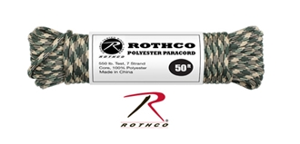 Picture of Desert Camo - 50 Foot - 5/32 Inch - Polyester Paracord