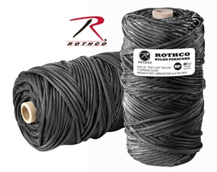 Picture of Black - 300 Foot - 550 LB Type III Paracord