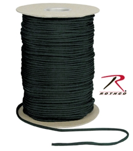Picture of Black - 1,000 Foot - 550 LB Type III Paracord