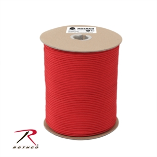 Picture of Red - 1,000 Foot - 550 LB Type III Paracord