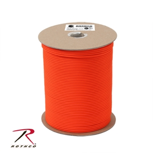 Picture of Safety Orange - 1,000 Foot - 550 LB Type III Paracord