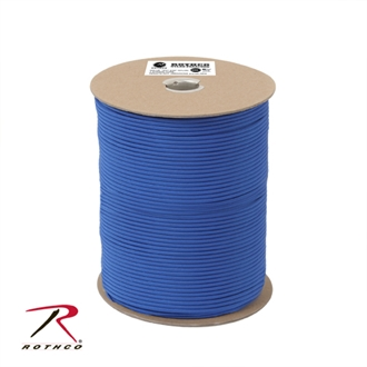 Picture of Royal Blue - 1,000 Foot - 550 LB Type III Paracord