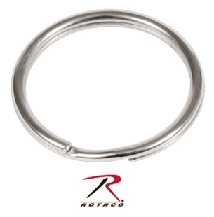 Picture of 1 Inch Split Ring - Nickel - Rothco