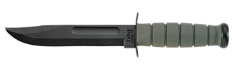 Picture of Foliage Green KA-BAR® With Glass-Filled Nylon Sheath