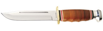 Picture of Leather Handled Marine Hunter by KA-BAR®