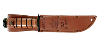 Picture of Brown Leather US ARMY Replacement Sheath by KA-BAR®