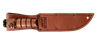 Picture of Partially Serrated Short KA-BAR® with Leather Sheath