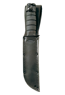 Picture of Replacement Sheath: Black Leather, KA-BAR® USA