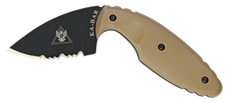 Picture of TDI Law Enforcement Knife with Coyote Brown Handle by KA-BAR®