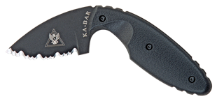 Picture of TDI Law Enforcement Knife, Serrated by KA-BAR®