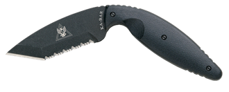 Picture of TDI Law Enforcement Tanto, Serrated by KA-BAR®