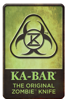 Picture of The Original Zombie™ Knife Metal Sign - KA-BAR®