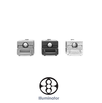 Picture of 3/8 Inch Illuminator LED - Metal Side Release Buckles - Knottology