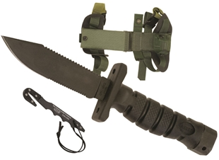 Picture of ASEK (Aircrew Survival Egress Knife) Survival Knife System