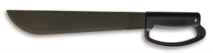 Picture of OKC 12 Inch Camper Black 'D' Handle Machete