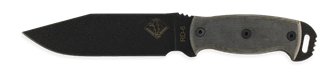 Picture of RD 6 - Black Micarta - Ontario Knife Company