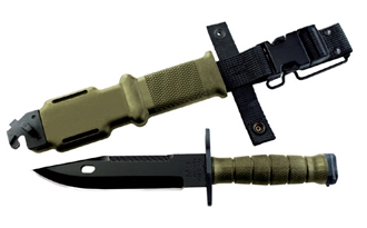 Picture of 490 M9 Bayonet & Scabbard - Olive Drab by Ontario Knife Company