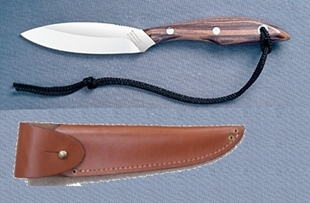 Picture of Grohmann R1SA - #1 | Rosewood | Stainless Steel | Overlap Sheath