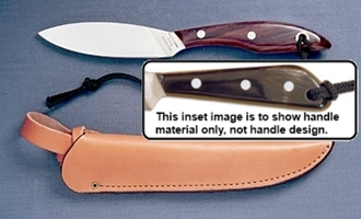 Picture of Grohmann W1SF - #1 | Water Buffalo Horn | Stainless Steel | Regular Leather Sheath