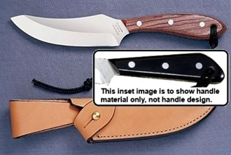 Picture of Grohmann M100S - #100 | Black Micarta | Stainless Steel | Regular Button Tab