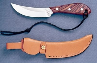 Picture of Grohmann R101S - #101 | Rosewood | Stainless Steel | Regular Button Tab Sheath
