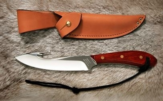 Picture of Grohmann X4SG - #4 | Resinwood | Stainless Steel | Regular Button Tab
