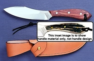 Picture of Grohmann H4SF - #4 | Stag Horn | Stainless Steel | Regular Button Tab