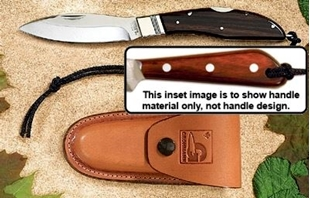 Picture of D.H.Russell Lockblade - Xtra Water-Resistant Handle - Stainless Steel - Regular Overlap Sheath by Grohmann®