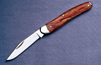 Picture of #360s Slimline Pocket Knife - Rosewood Handle - Stainless Steel Blade  by Grohmann®