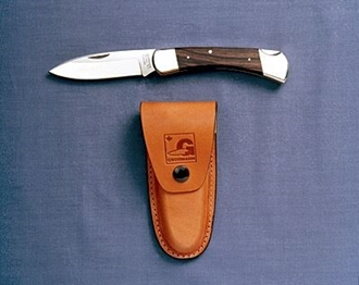 Picture of #380s Hunter - Rosewood Handle - Stainless Steel Blade by Grohmann®