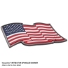 Picture of 3 x 2 Old Glory Waving with Pride 3D PVC Patch