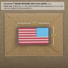 Picture of 3.25 x 1.75 Reverse American Flag 3D PVC Patch