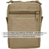 Picture of 7 x 5 x 2 Vertical GP Pouch by Maxpedition®