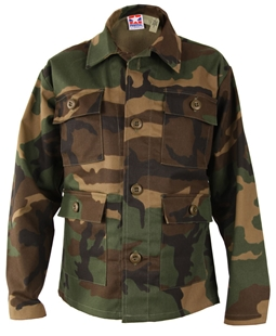 Picture of Discontinued: Kids BDU Coat 50/50 Nylon/Cotton Twill by Propper™