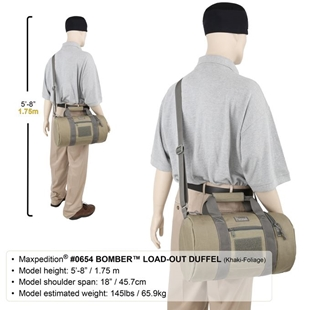 Picture of BOMBER™ Load-Out Duffel by Maxpedition®