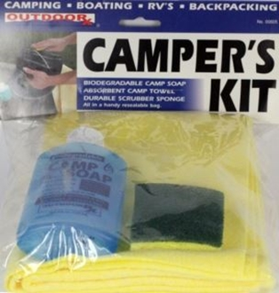 Picture of BLOWOUT: Camper's Kit (Wash Kit) by Outdoor RX