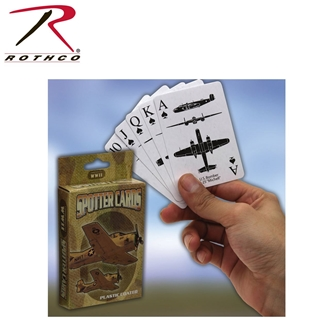 "Picture of WWII Spotter Playing Cards ""CE"" by Rothco®"