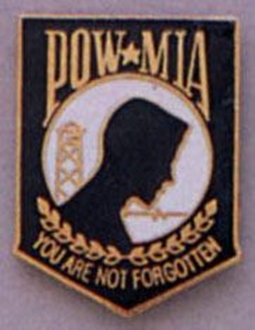 Picture of POW-MIA Crest Pin by Rothco®
