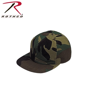 Picture of Woodland Camo Full Back Cap by Rothco®