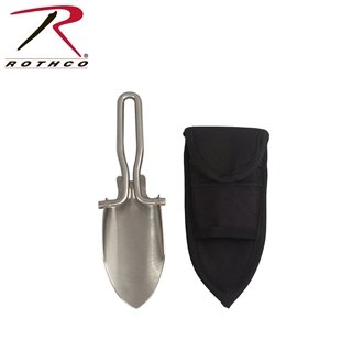 Picture of Stainless Steel Folding Shovel with Sheath by Rothco®