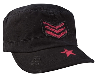 Picture of Women's Vintage Stripes & Stars Adjustable Fatigue Cap by Rothco®