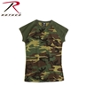 Picture of Women's Short Sleeve Camo Raglan T-Shirt by Rothco®