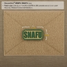 """Picture of SNAFU PVC Patch 2"""" x 1"""" by Maxpedition®"""
